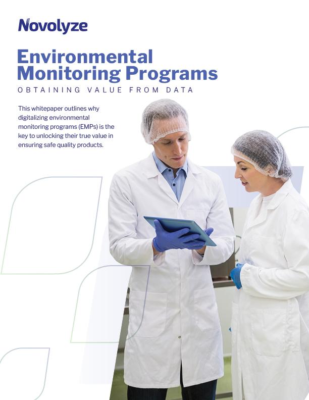 Environmental Monitoring Programs White Paper